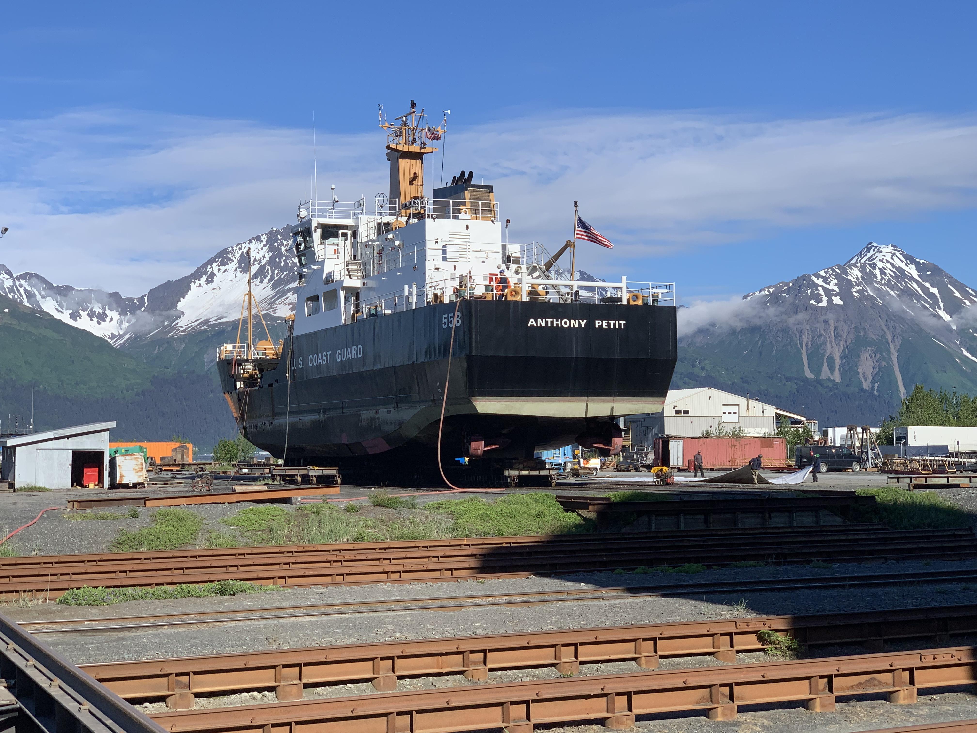Ship Repair, Marine Repair, Ship Maintenance, Marine Vessel Repair Services at JAG Alaska Inc., Seward Shipyard