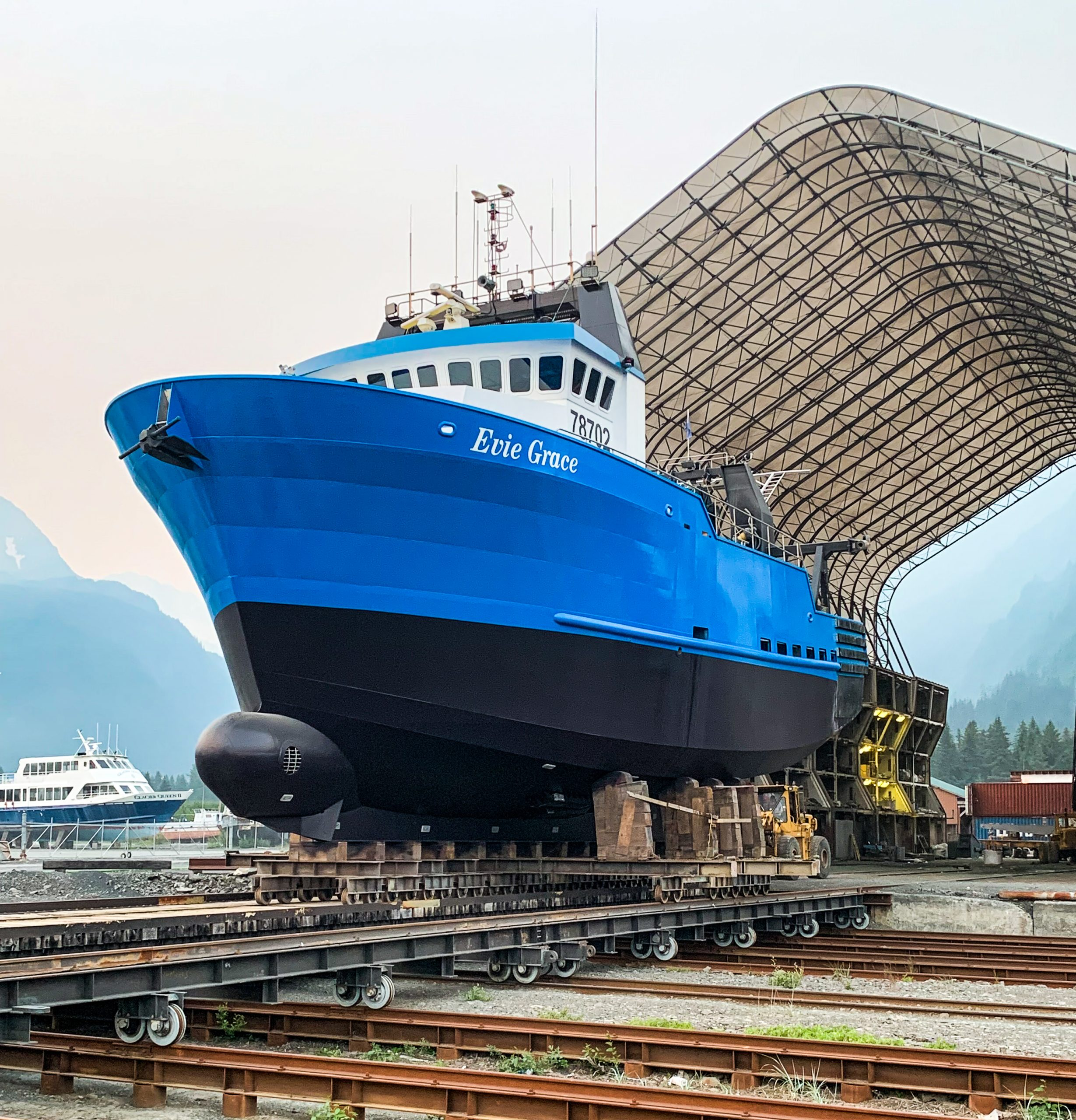 Evie Grace, Marine Sandblasting and Painting, Alaska Fleet