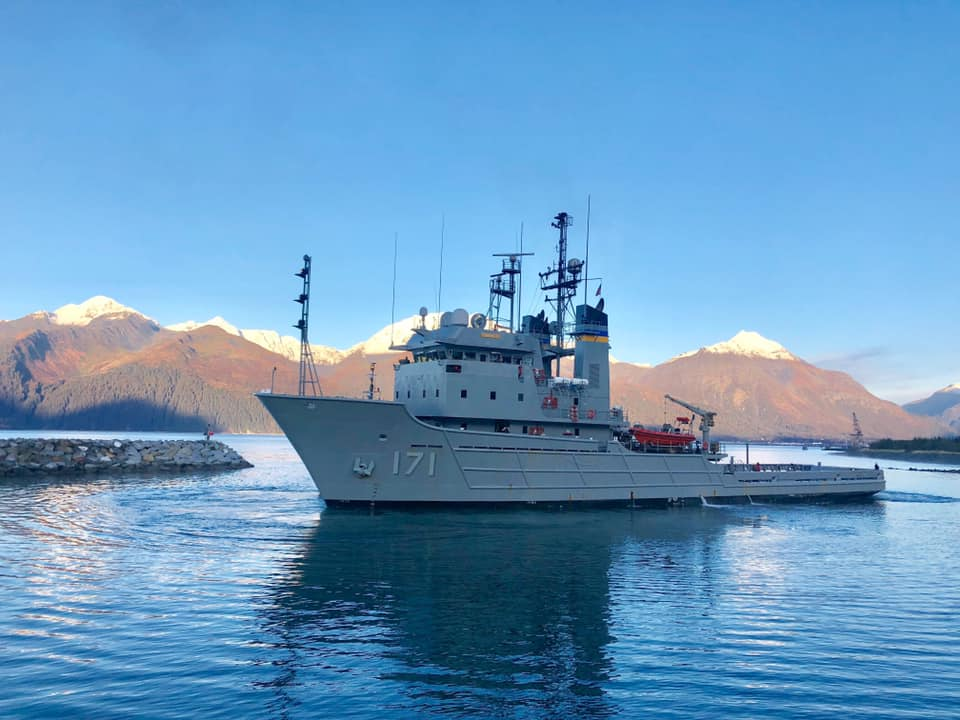 USNS Sioux, Navy Ship, JAG Alaska Inc, Seward Shipyard Ship Repair